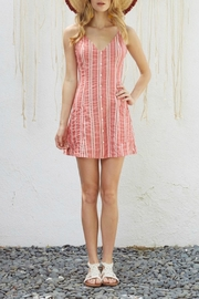 Lost + Wander Striped Button-Down Dress - Product Mini Image