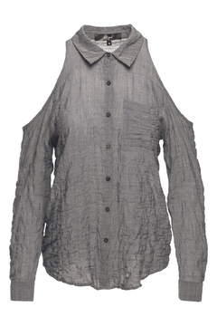 Lost April Cassie Wrinkled Top - Product List Image