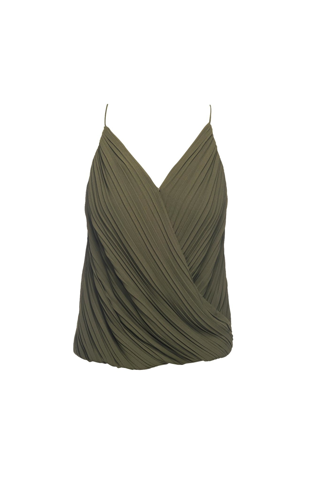 Lost April Dion Pleated Tank - Main Image