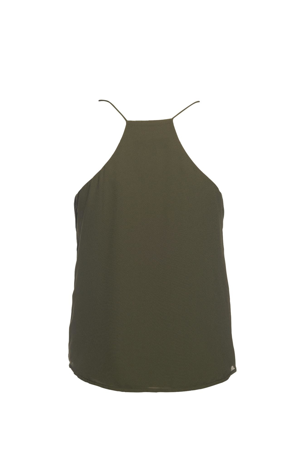 Lost April Dion Pleated Tank - Front Full Image