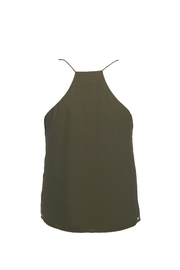 Lost April Dion Pleated Tank - Front full body
