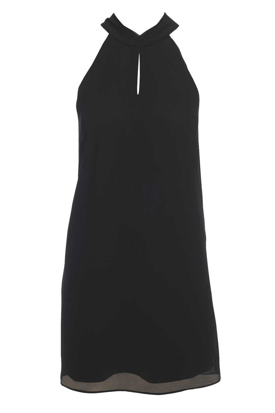 Lost April Kate Keyhole Dress - Front Cropped Image