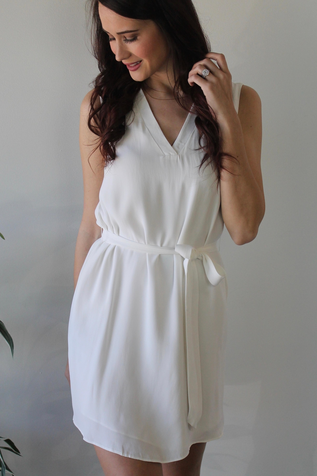 Lost April Miles Away Dress - Front Full Image