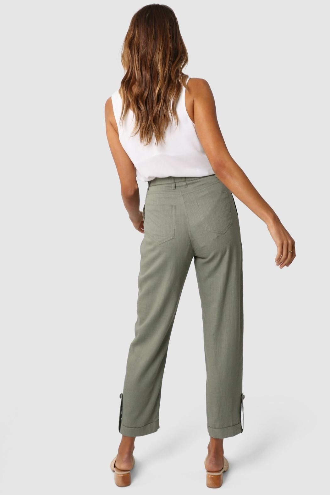 Lost in Lunar Weston Pants - Back Cropped Image