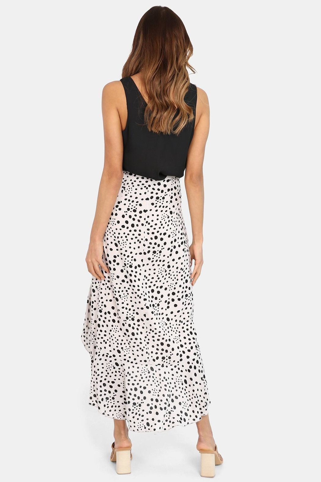 Lost in Lunar Allira Maxi Skirt - Side Cropped Image