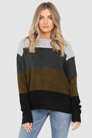 Lost in Lunar Block Stripe Sweater - Product Mini Image