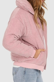 Lost in Lunar Cleo Corduroy Bomber - Side cropped