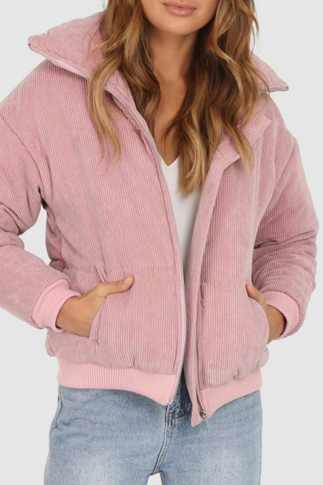 Lost in Lunar Cleo Corduroy Bomber - Main Image