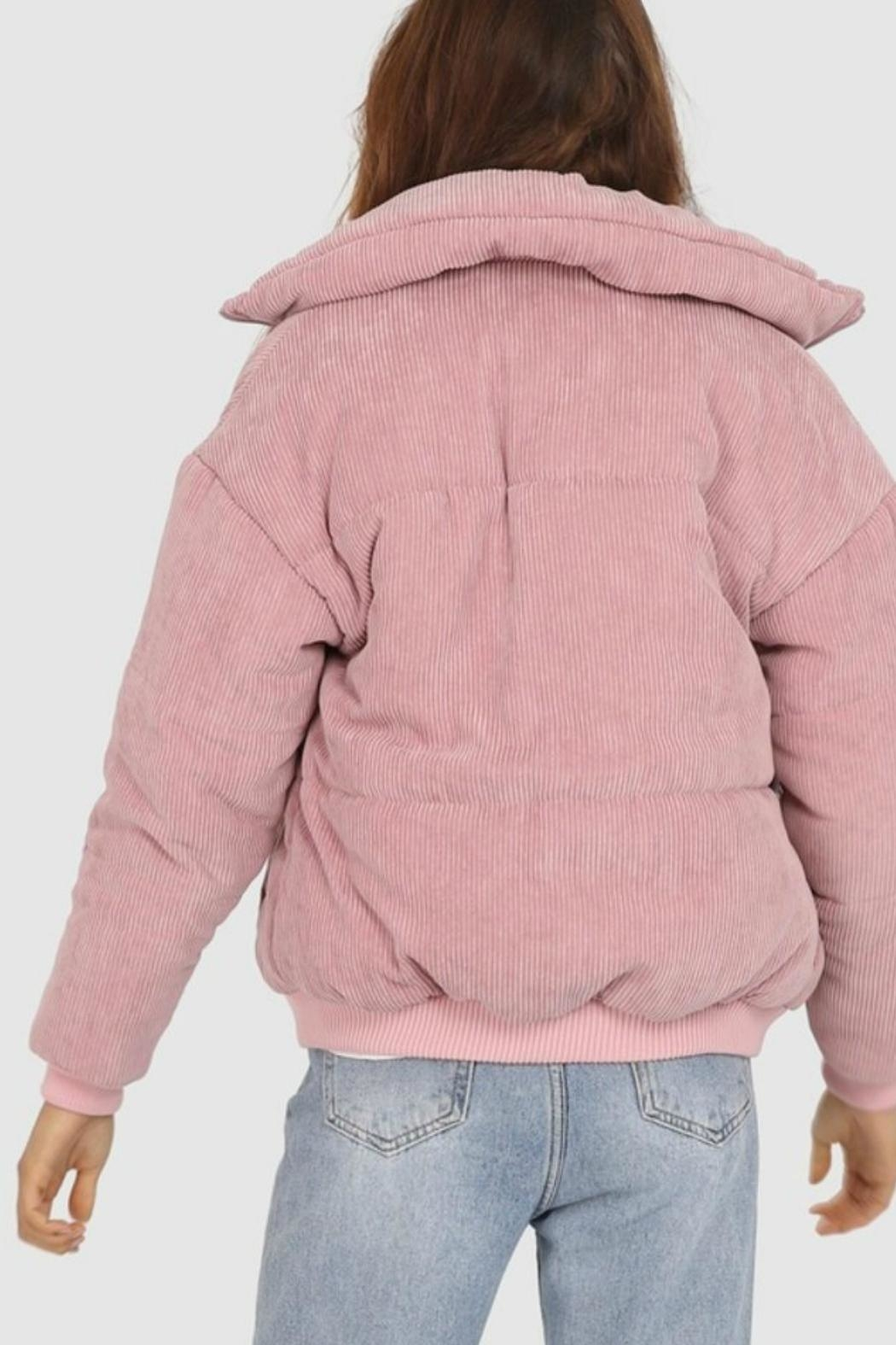 Lost in Lunar Cleo Corduroy Bomber - Front Full Image