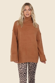 Lost in Lunar Cowl Neck Sweater - Front cropped