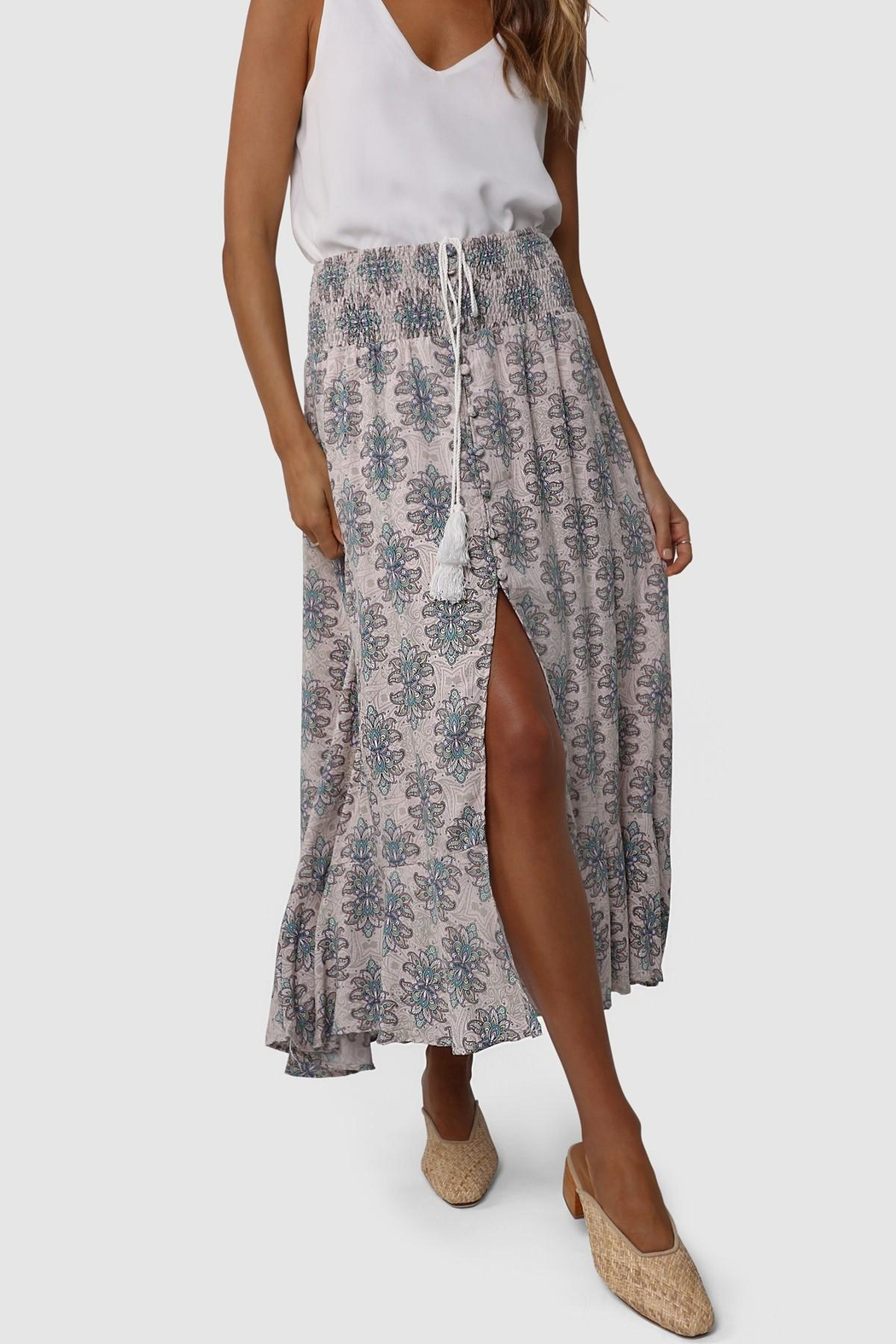 Lost in Lunar Evie Maxi Skirt - Main Image