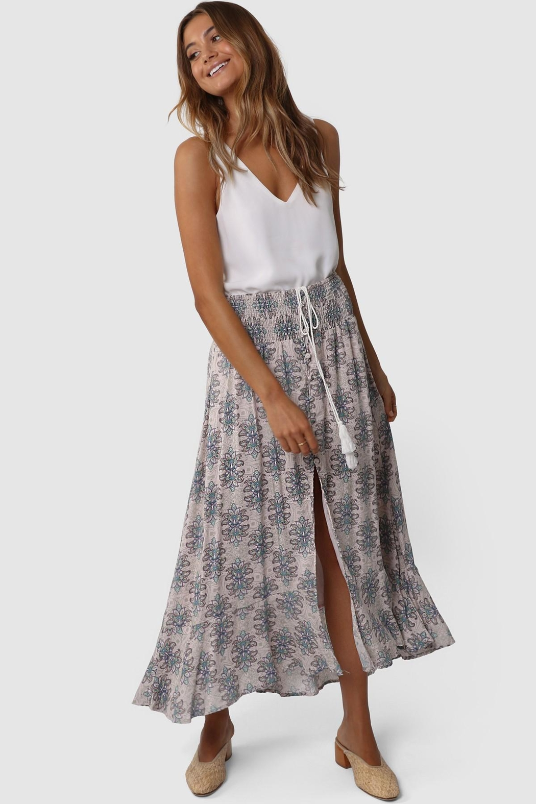 Lost in Lunar Evie Maxi Skirt - Front Full Image