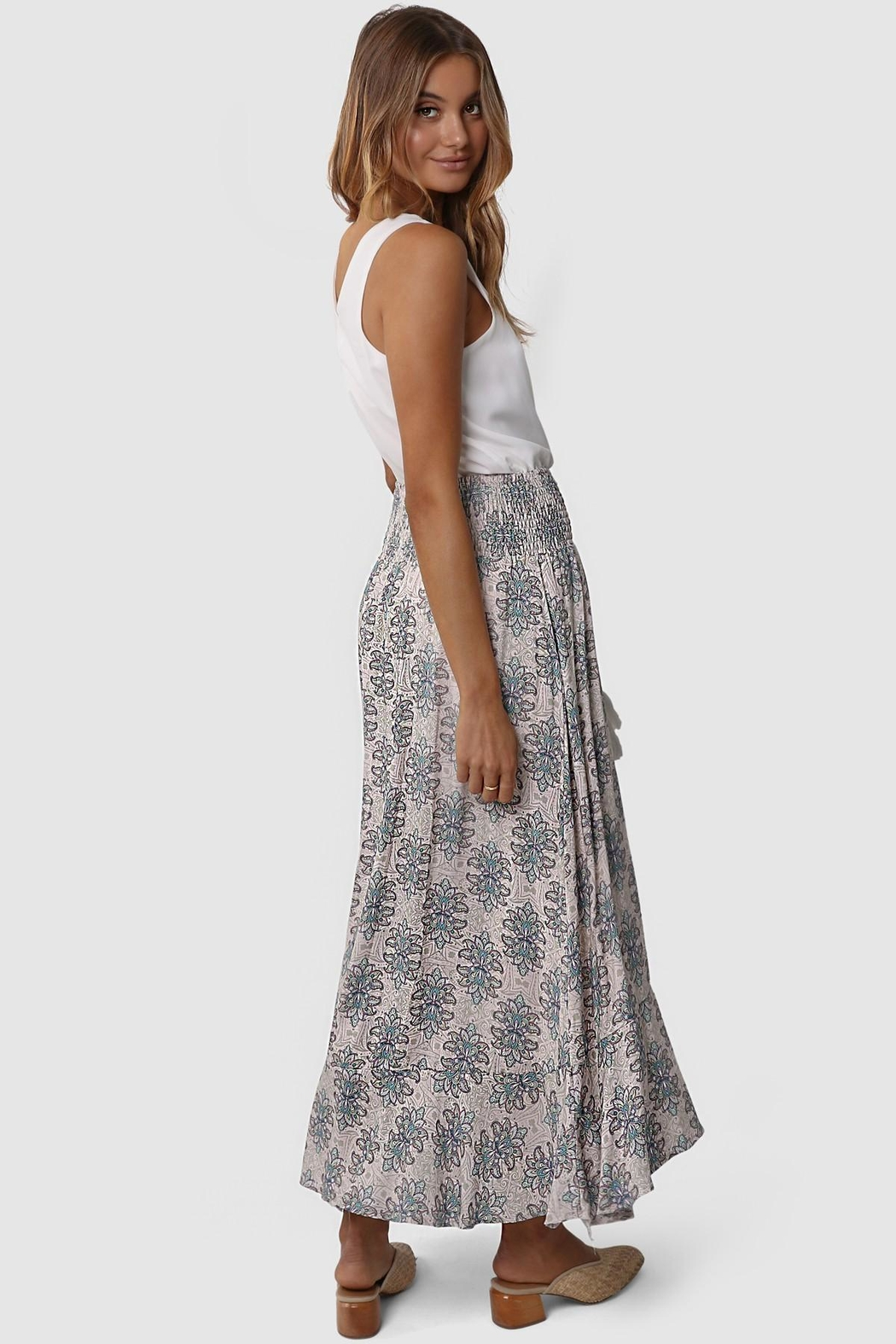 Lost in Lunar Evie Maxi Skirt - Back Cropped Image