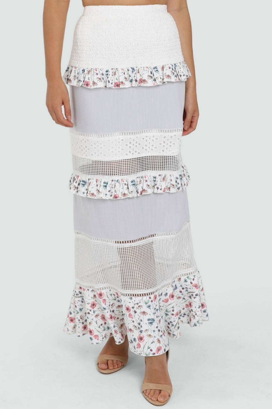 Lost in Lunar Florance Maxi Skirt - Front Full Image