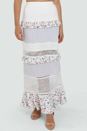 Lost in Lunar Florance Maxi Skirt - Front full body
