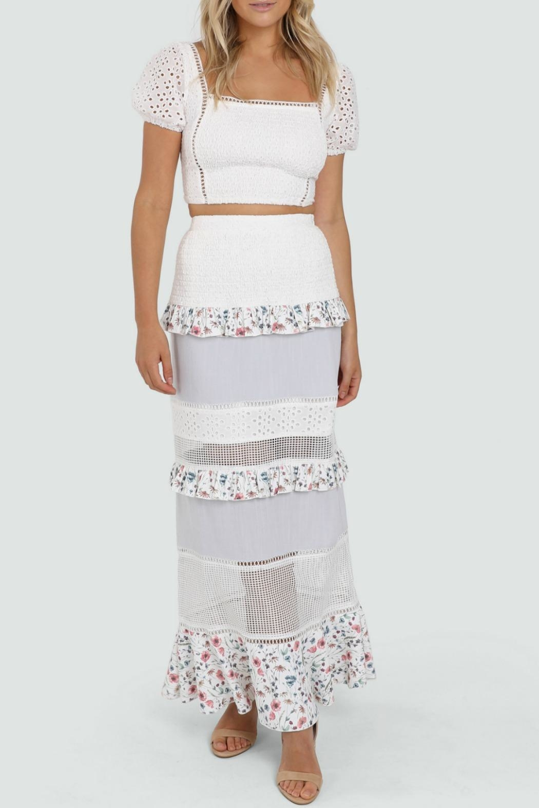 Lost in Lunar Florance Maxi Skirt - Main Image
