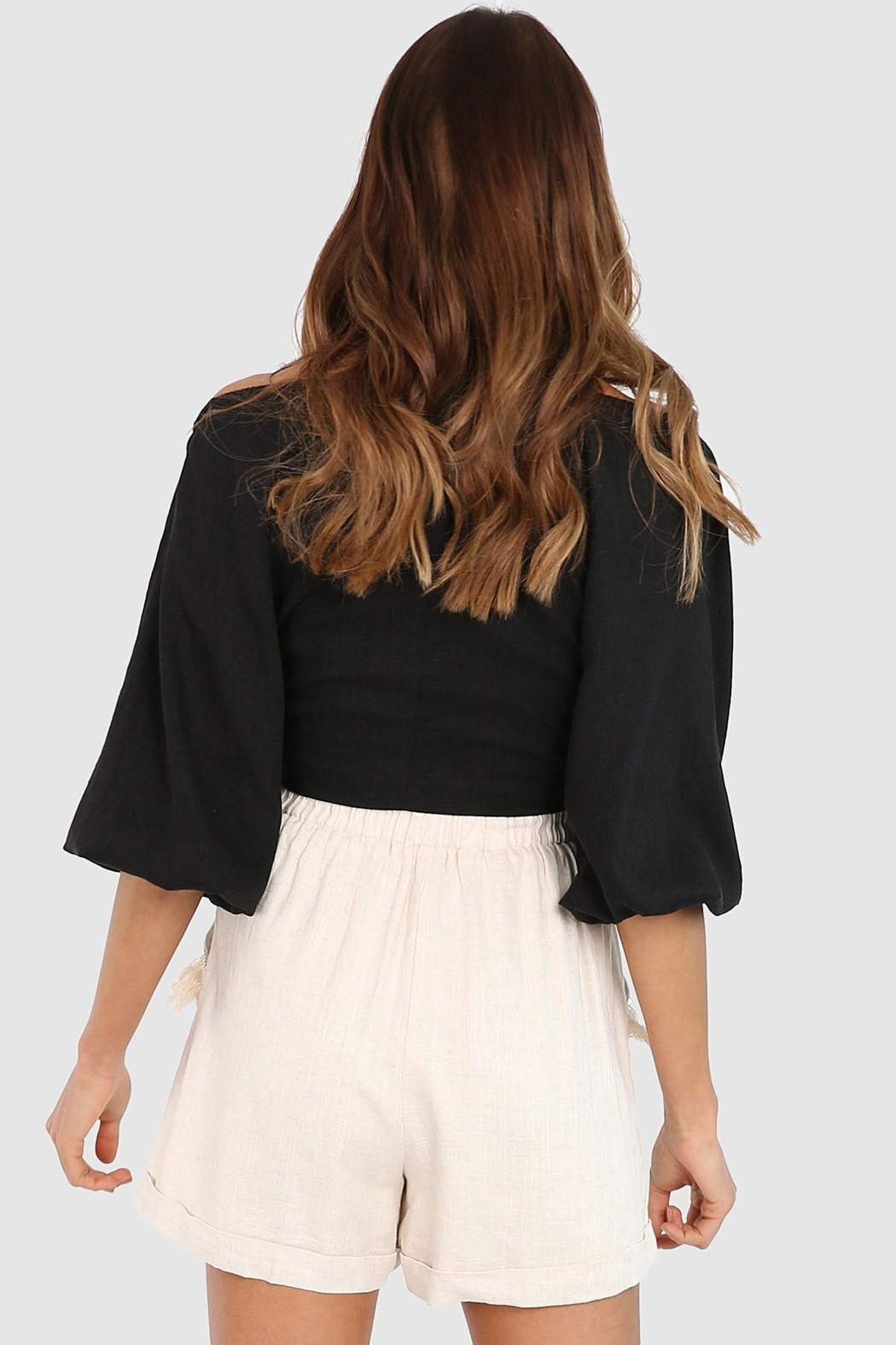 Lost in Lunar Miray Crop Top - Side Cropped Image