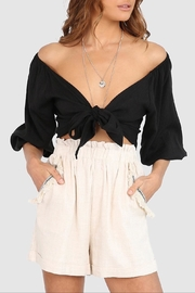 Lost in Lunar Miray Crop Top - Front cropped