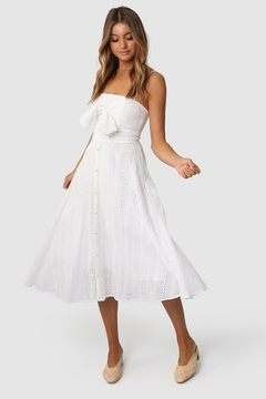 Lost in Lunar Olena Eyelet Dress - Product List Image