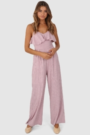 Lost in Lunar Tahnee Ruffle Jumpsuit - Product Mini Image