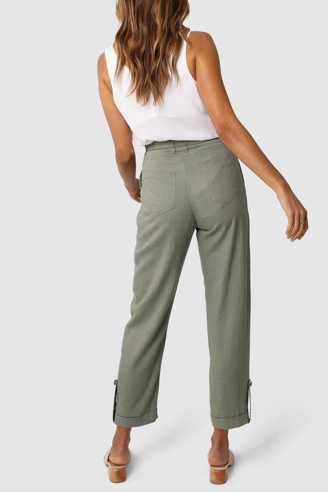 Lost in Lunar Weston Pant - Side Cropped Image