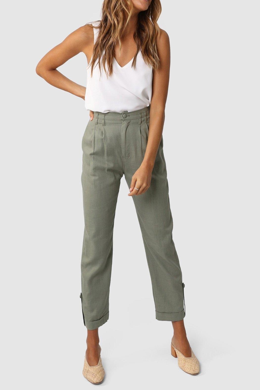 Lost in Lunar Weston Pant - Front Cropped Image
