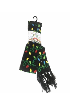 Shoptiques Product: Flashing Bulb Lightup Scarf