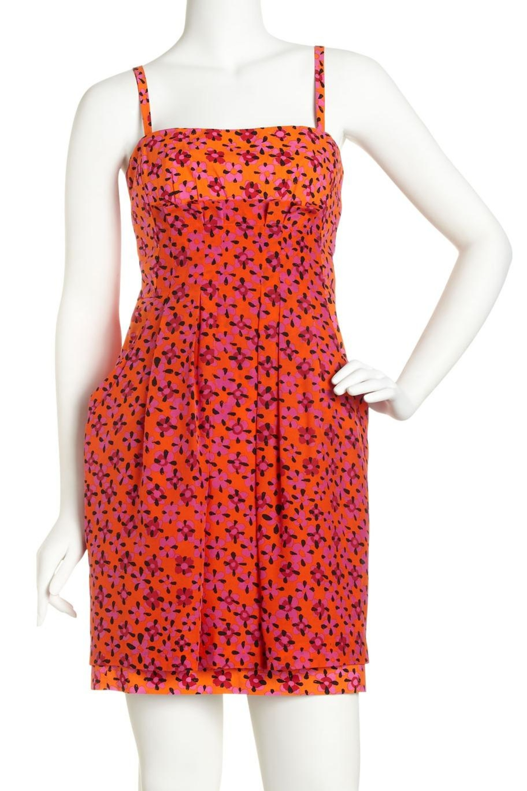 Nanette Lepore Lotus Blossom Dress - Front Cropped Image