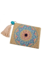 Physician Endorsed Lotus Clutch - Front cropped