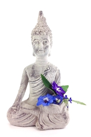 GHome2 Lotus Flower Buddha - Front cropped