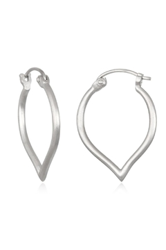 Satya Lotus Hoop Earrings - Alternate List Image