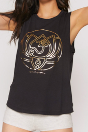 Spiritual Gangster  Lotus Muscle Tank - Product Mini Image
