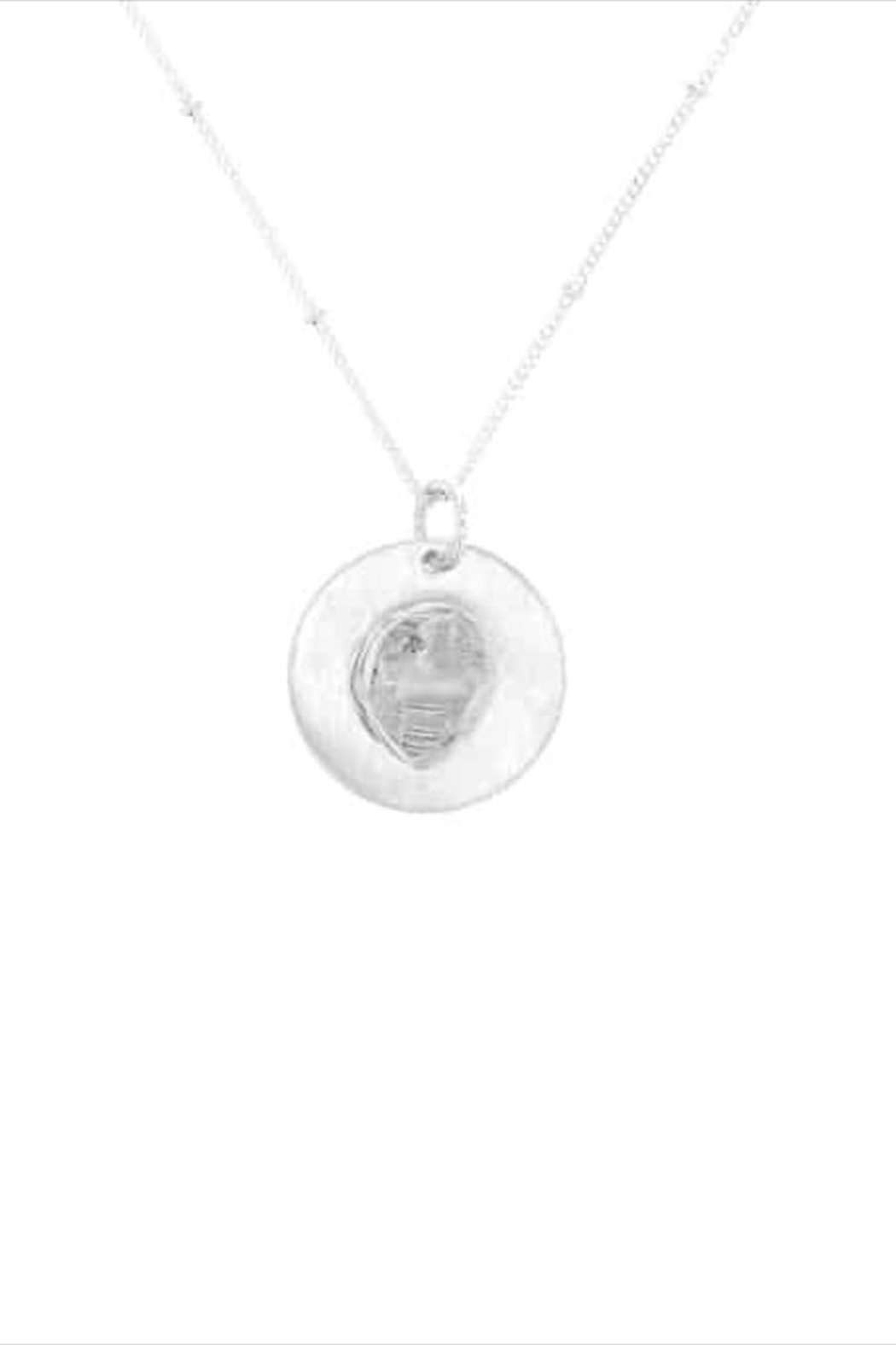 Lotus Jewelry Studio Crystal Disk Necklace - Main Image