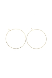 Lotus Jewelry Studio Round Hoops - Front cropped