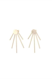 Lotus Jewelry Studio Sun Ray Earrings - Product Mini Image