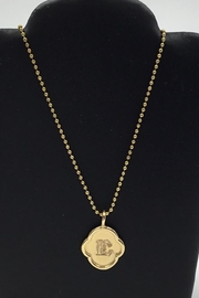 Lotus Jewelry Studio Wax Stamp Initial-Necklace - Product Mini Image