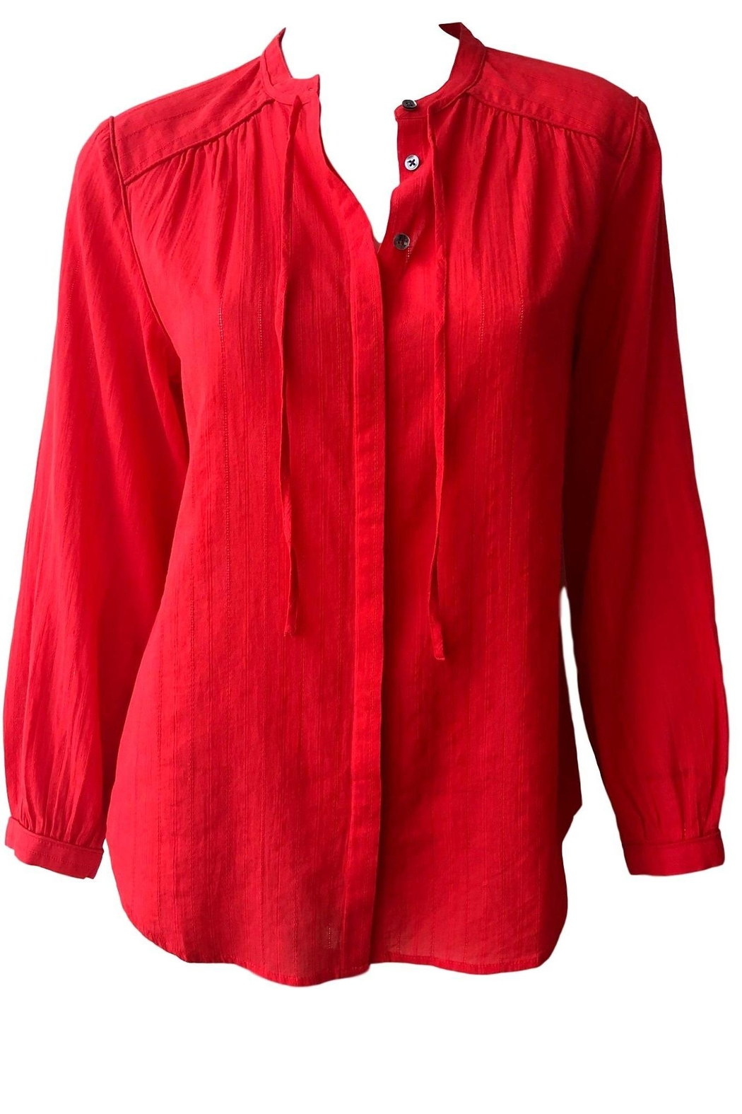 Closed Lou Blouse - Front Cropped Image