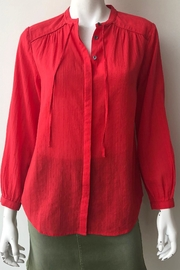 Closed Lou Blouse - Front full body