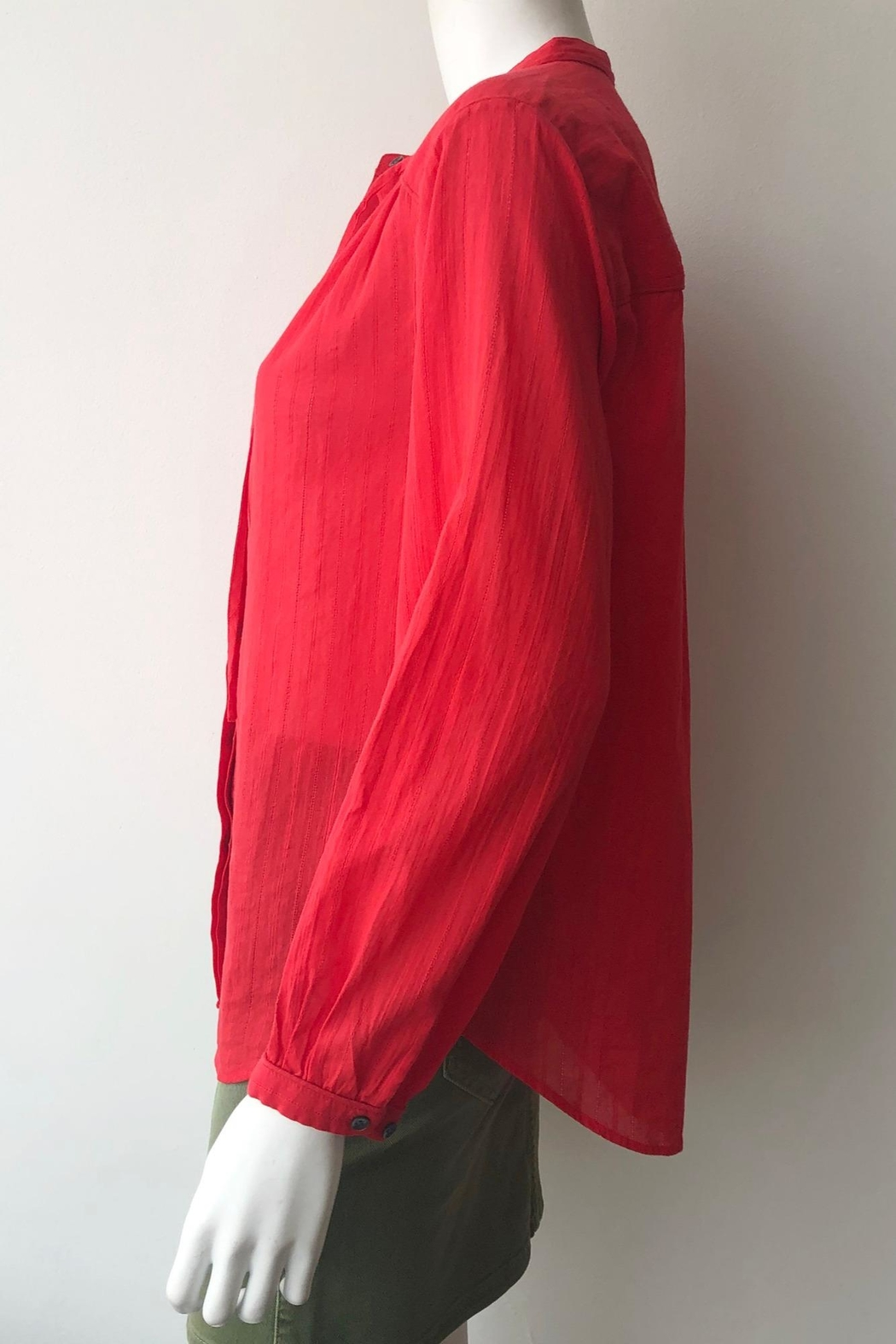 Closed Lou Blouse - Side Cropped Image