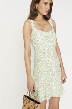 Faithfull The Brand Lou-Lou Mini Dress - Product List Image