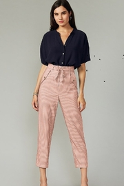 Greylin  Lou Striped Hi-Waist Pant - Product Mini Image