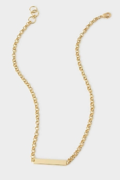 Gorjana Lou Tag Necklace - Product List Image