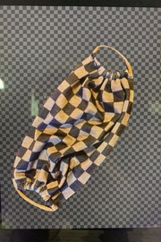 Bedford Basket Louis Inspired Check Mask - Product Mini Image