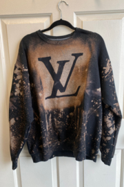Bedford Basket Louis Vuitton Inspired Sweatshirt - Front cropped