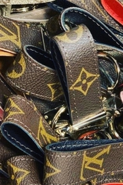 Louis Vuitton Up-Cycled  Keychain - Front cropped
