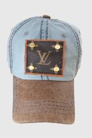 Embellish Up-Cycled Vuitton Hat - Product Mini Image