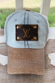 Louis Vuitton Up-Cycled Vuitton Hat - Front cropped