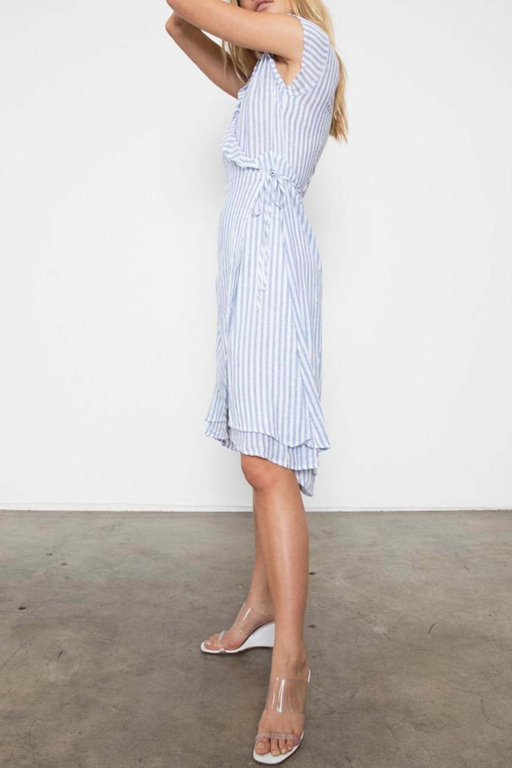 Rails Louisa Bluebell Stripe - Side Cropped Image