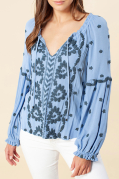 Hale Bob Louisa Embroidered Top - Product List Image