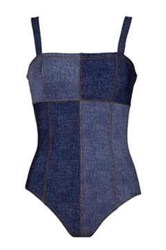 Karla Colletto Louise Bandeau One-Piece - Alternate List Image